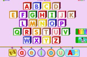english starfall alphabet and vowels