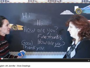 english with jennifer lesson 2 more greetings