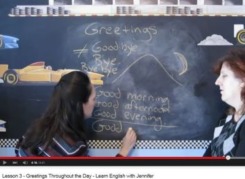 english with jennifer lesson 3 greetings throughout the day