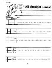 English ABC print upper straight curve etc 001